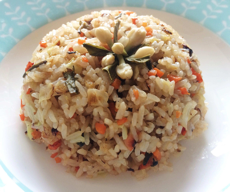 Jasmine Green Tea Infused Vegan Fried Rice