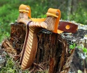Plywood Herringbone Rambone Slingshot