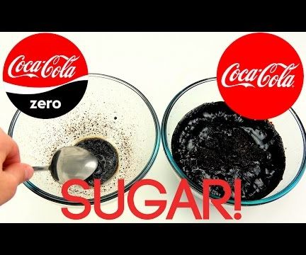 How much sugar is in Coca‑Cola Classic and Coke Zero Experiment