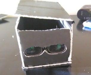 Super Glasses Portable Smartphone Projector