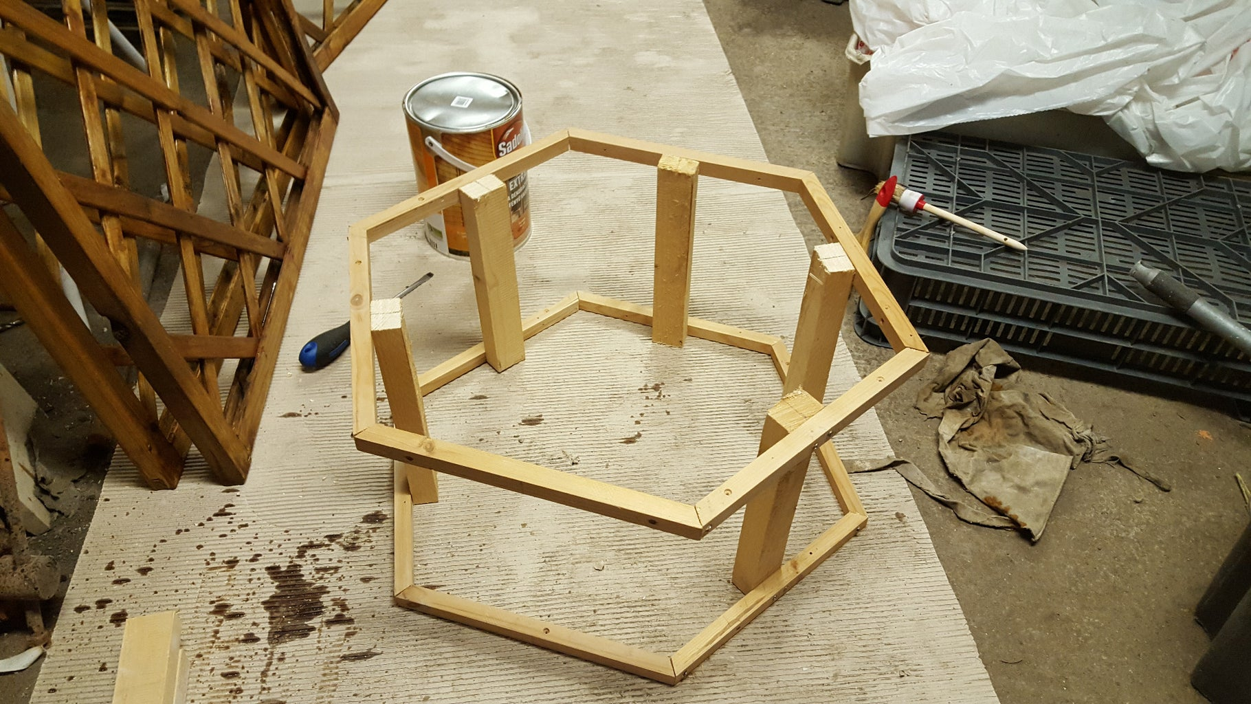 Step 2: Build the Frame From Pine Wood