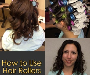 How to Use Hair Rollers