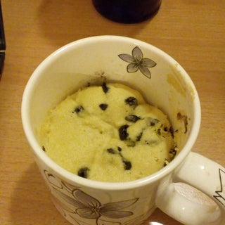 Blueberry Muffin Mug Cake - Made in the Microwave in 2 Minutes