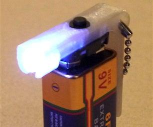 9V LED Flashlight