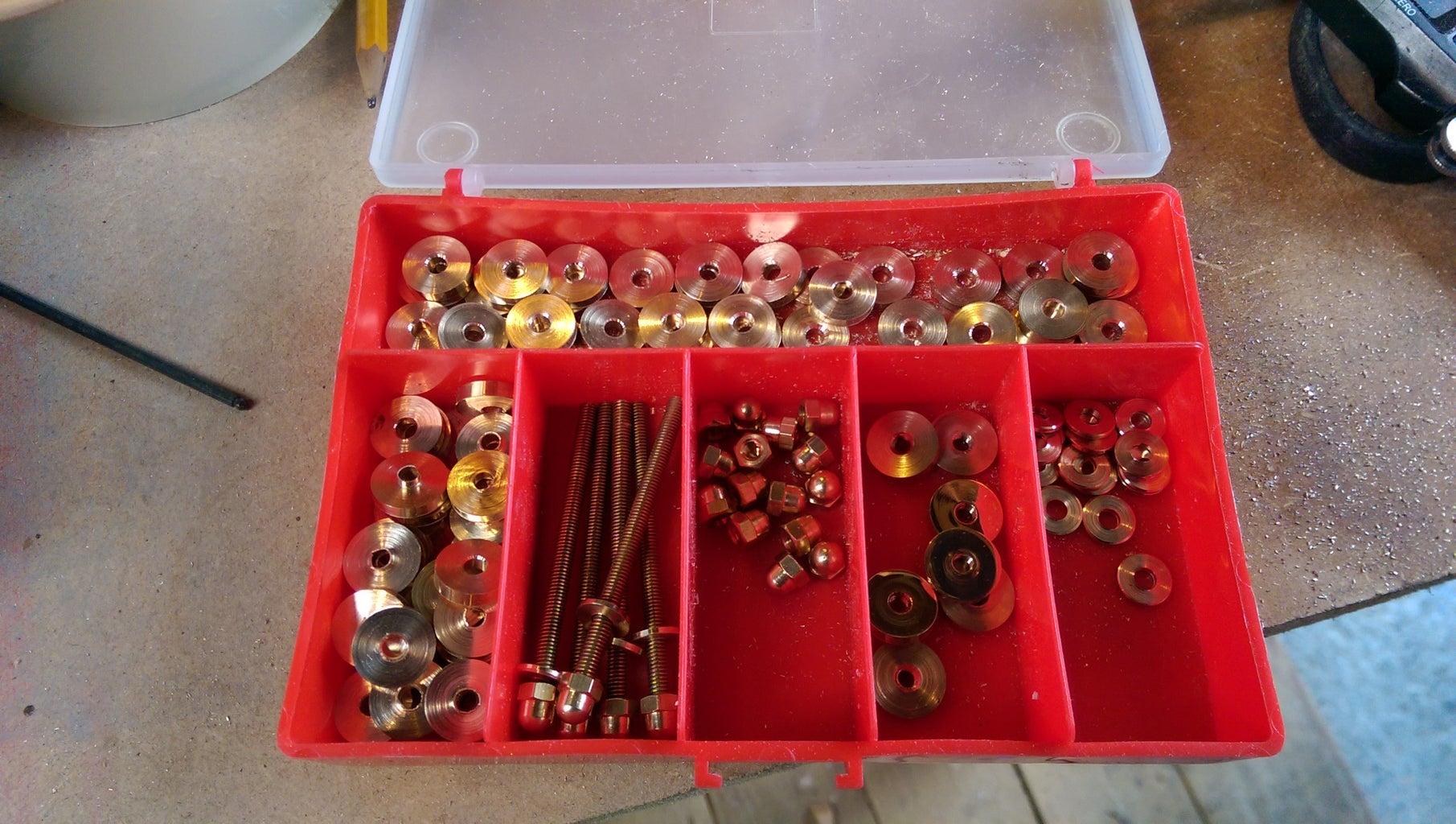 The Brasswork Parts.