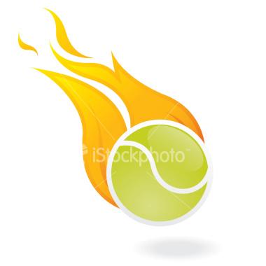 Flaming Tennis