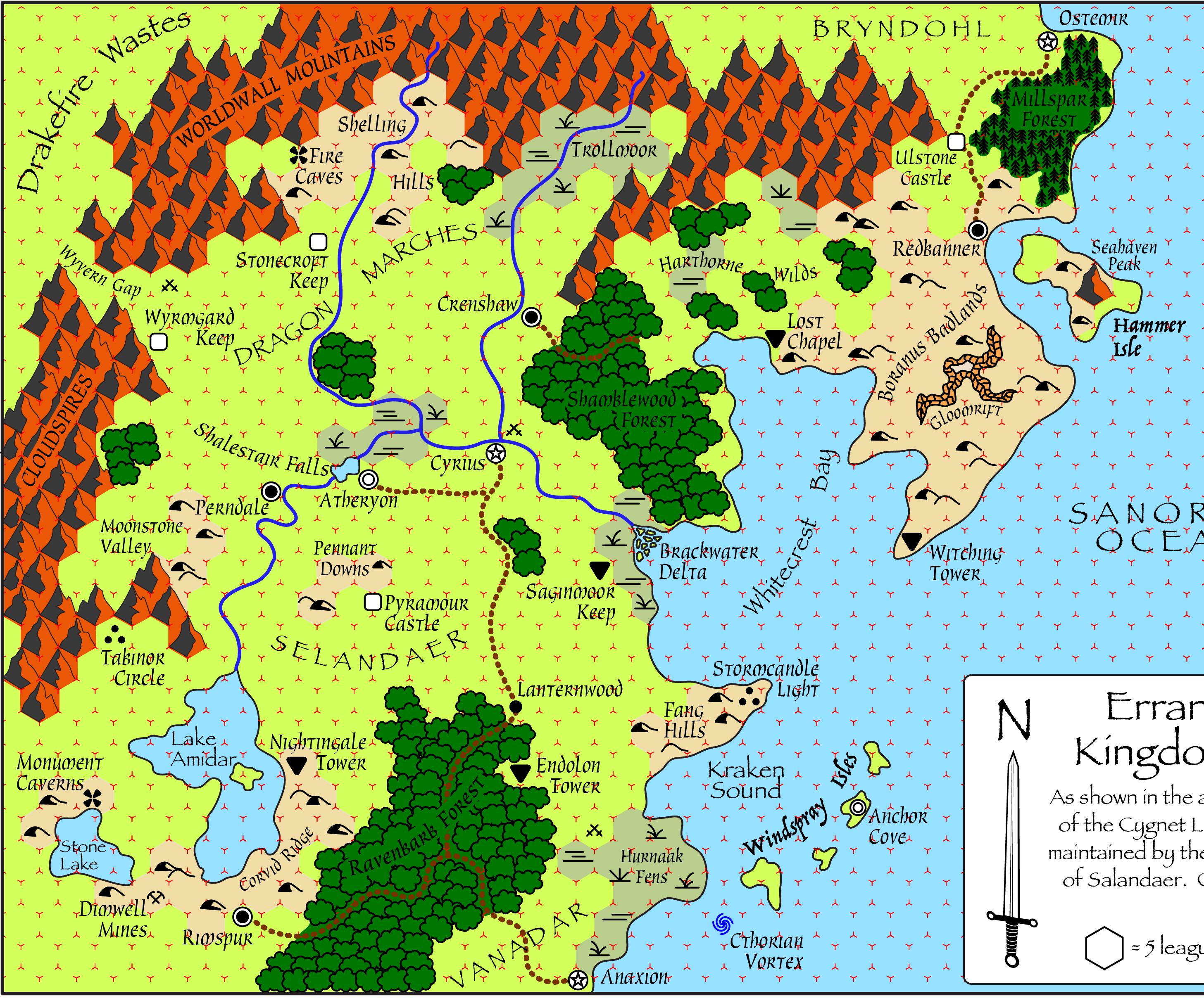 Fanatsy World/RPG Maps (Darlene Style)