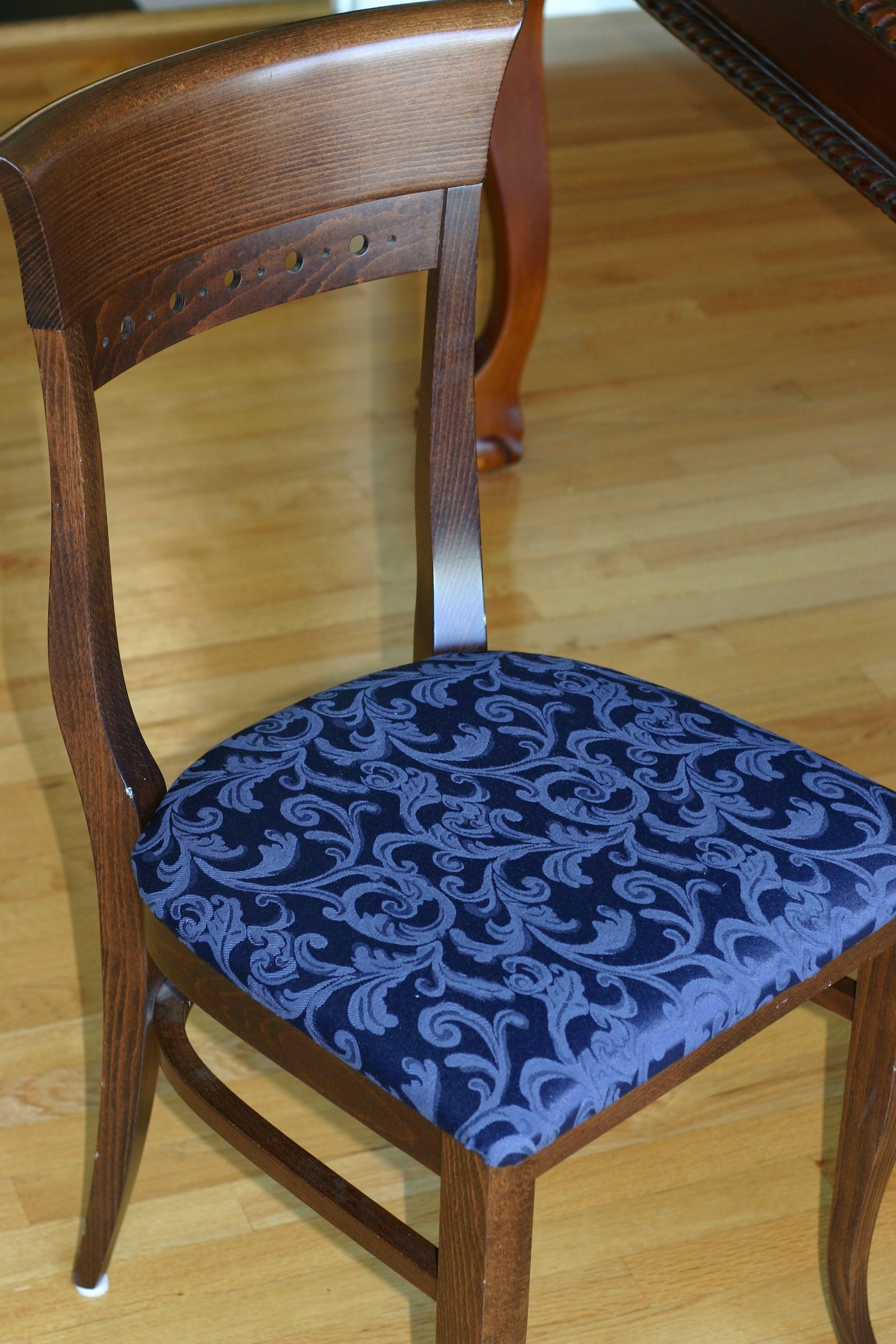 How to Re-Cover Chairs