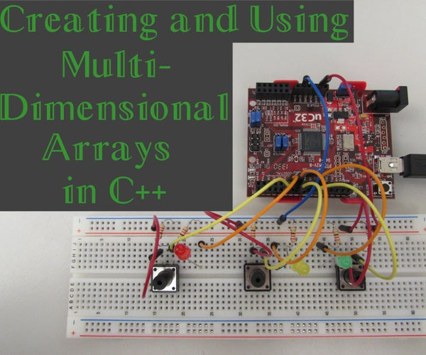 Creating and Using Multidimensional Arrays in C++