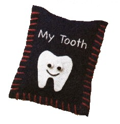Toothy Pillow