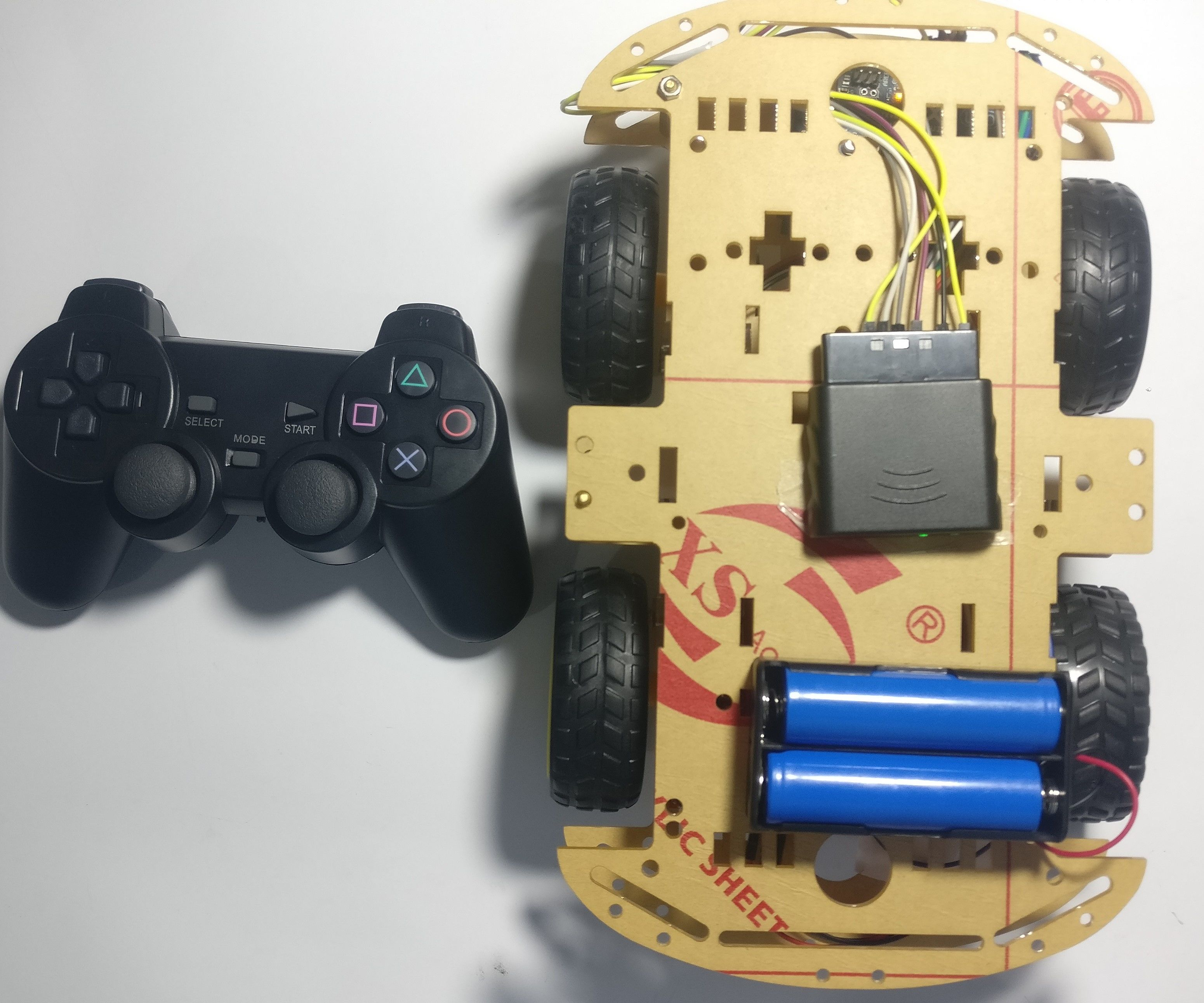 Robotic Car Kit Assembling and Controlling by PS2 Wireless Remote