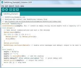 Arduino Strings for Beginners, the SafeString Alternative