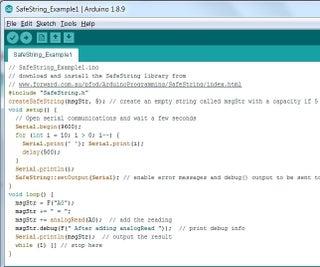 SafeString Alternative to Arduino Strings for Beginners