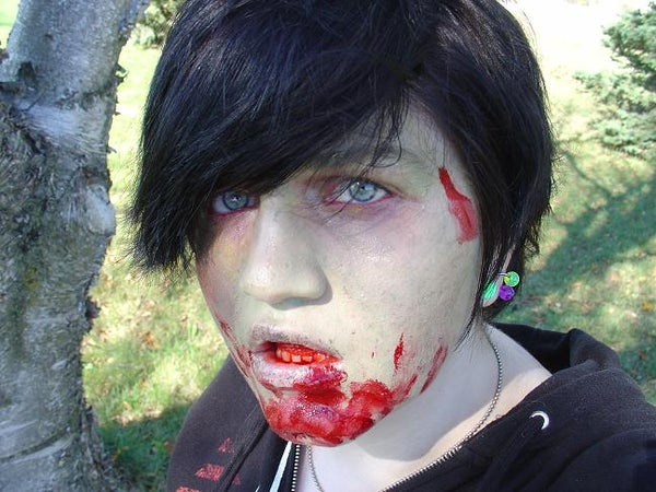 As Realistic As Zombie Makeup Gets!
