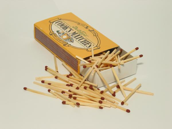 Funny Matchstick trick. Work safe, but suggestive.