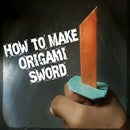 How to make Origami Sword