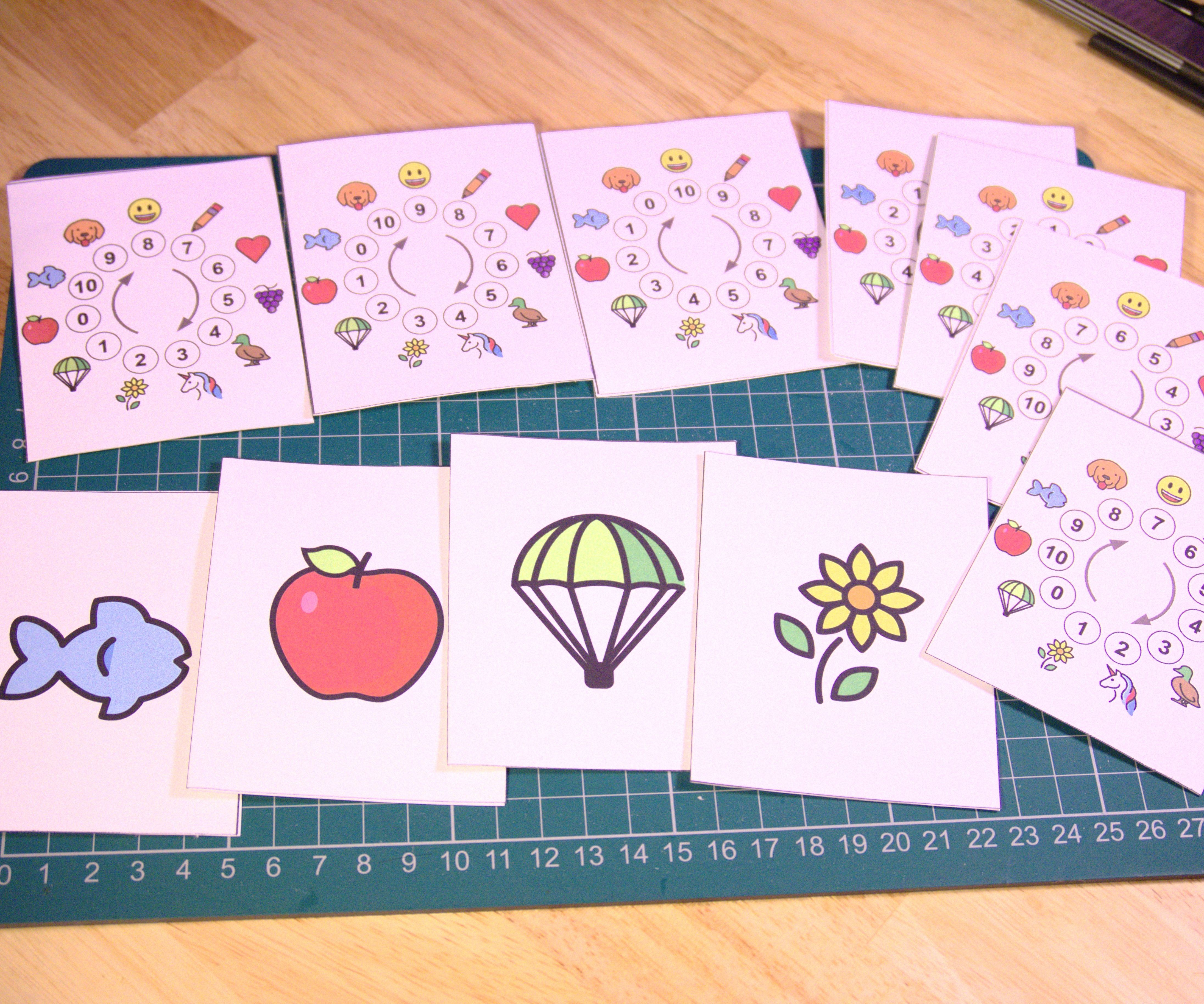 Mathematical Magical Emoji Cards
