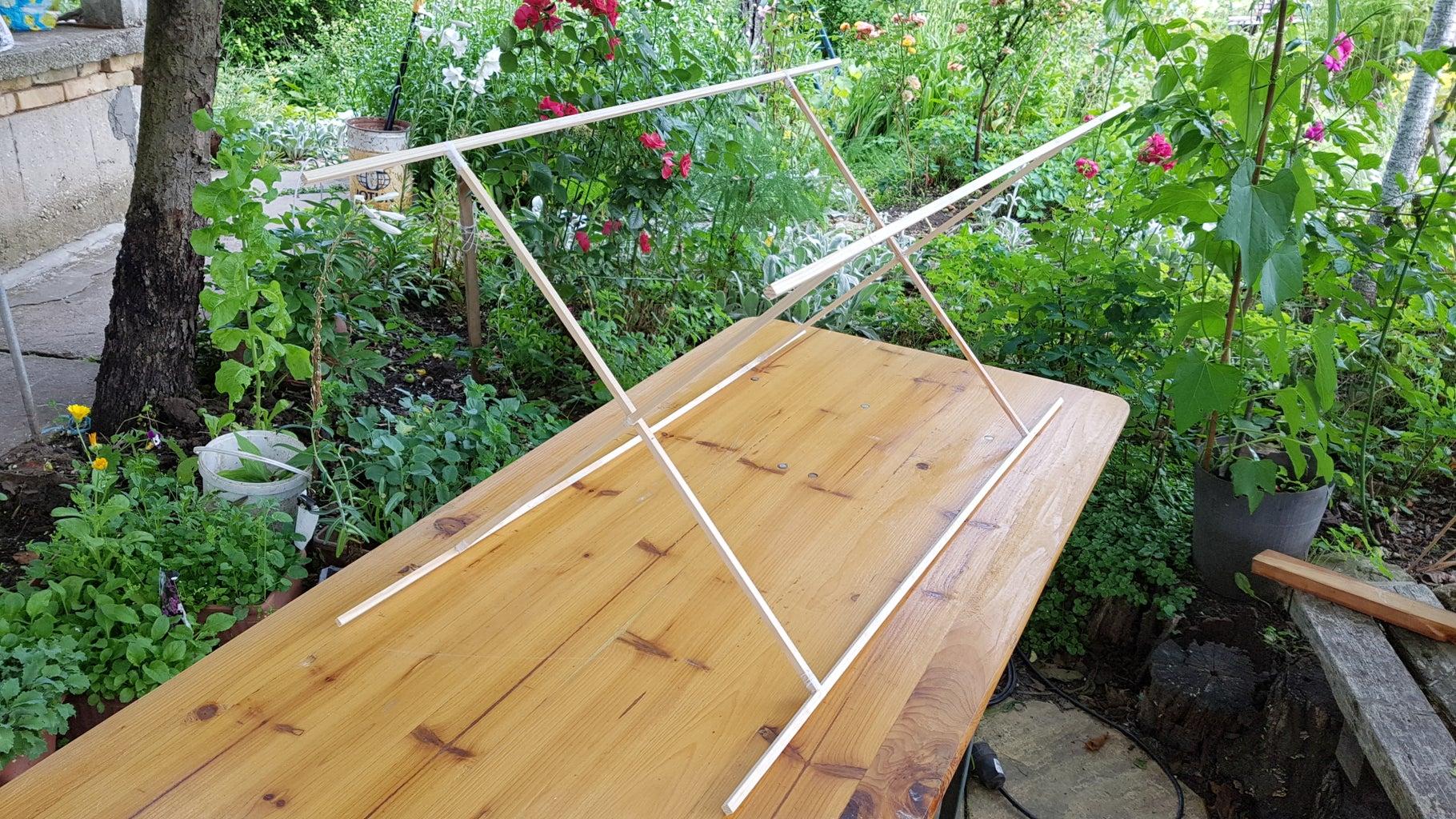 Assemble the Kite's Wooden Frame