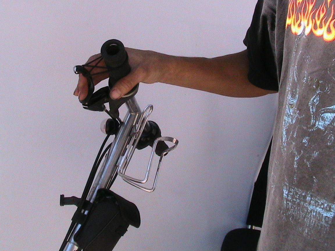 Bicycle Parking Brake.