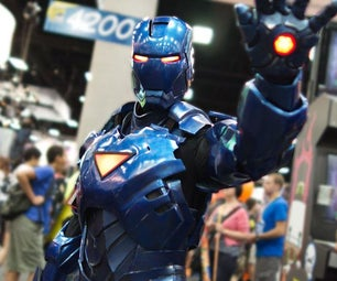 Stealth Iron Man With Electronics and Servos