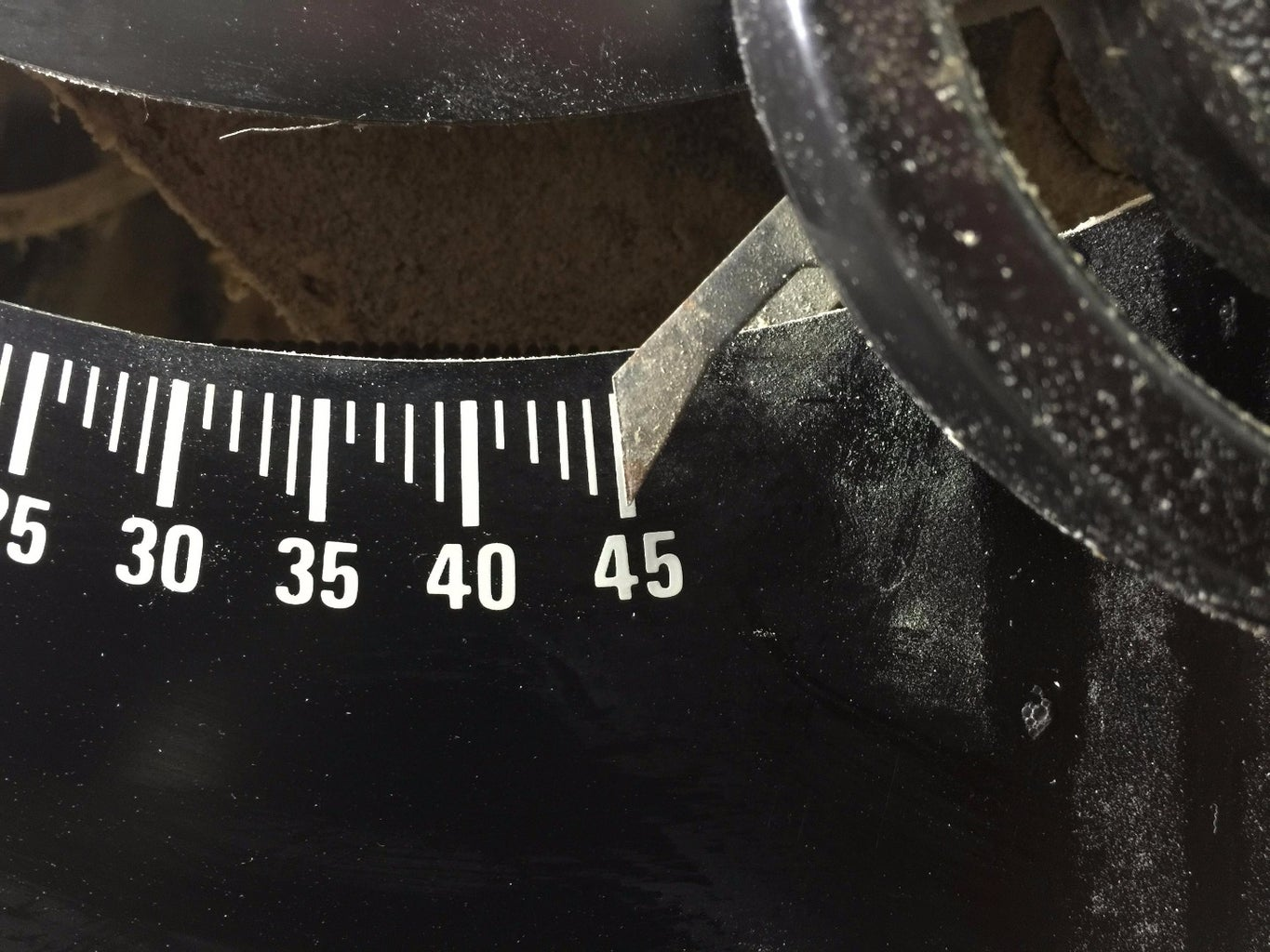 Check Your 45 Degree Bevel Stop