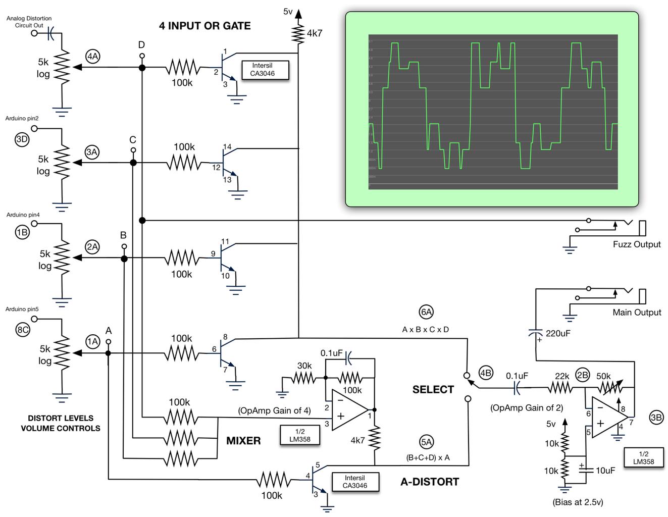 Enhanced Gate and Mixer Circuits
