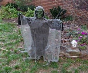 Give Your Hanging  Halloween Decorations a Body