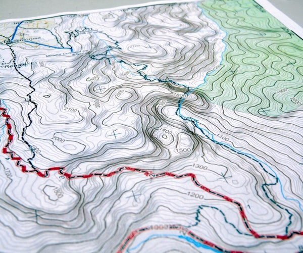 How to Create Your Own Topographic Map
