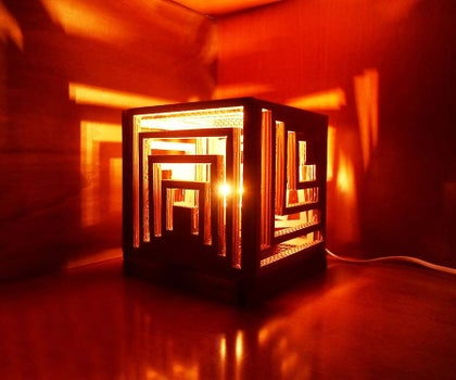 Multifaceted Lamp