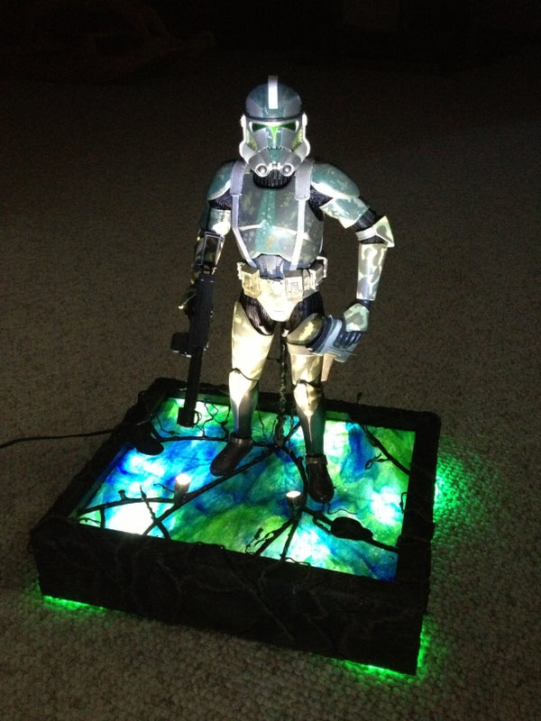 Star Wars Maquette Stand