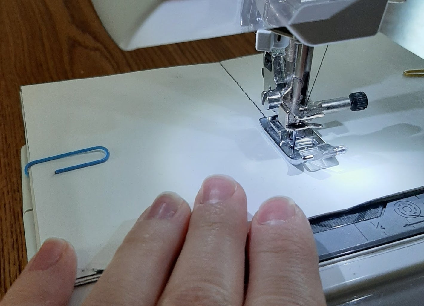Saddleback Stitch Method