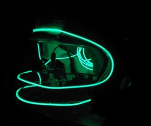Recycled  Glowing Helmets Design