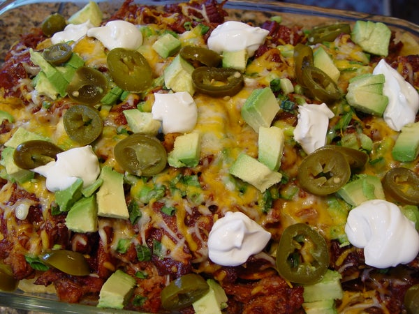 BBQ Bacon and Pulled Pork Nachos