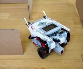 LEGO Robot Drives Thru a Maze