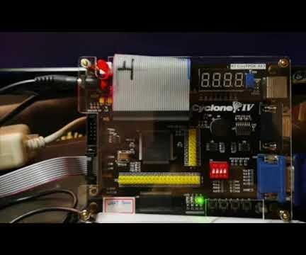 Make a Pong Game With FPGA by Verilog