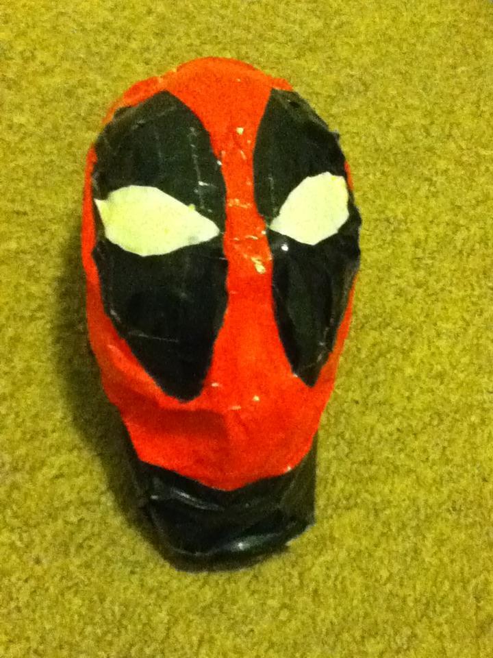Dead Pool Tape Mask