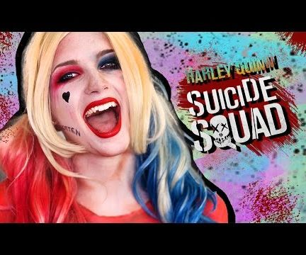 How To: Harley Quinn - Suicide Squad Makeup