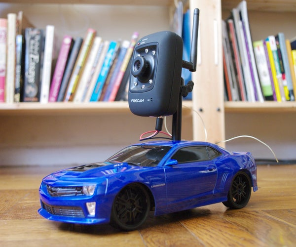 Internet-Controlled RC Car