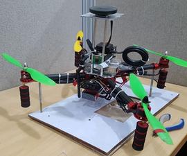 Autonomous Drone Using RPi