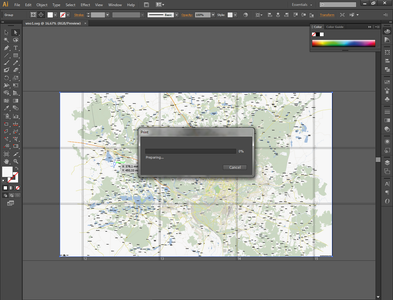 Tiling a Big Map to Print on Several Pages