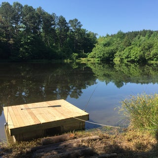 Floating Dock With Barrels (UPDATED)