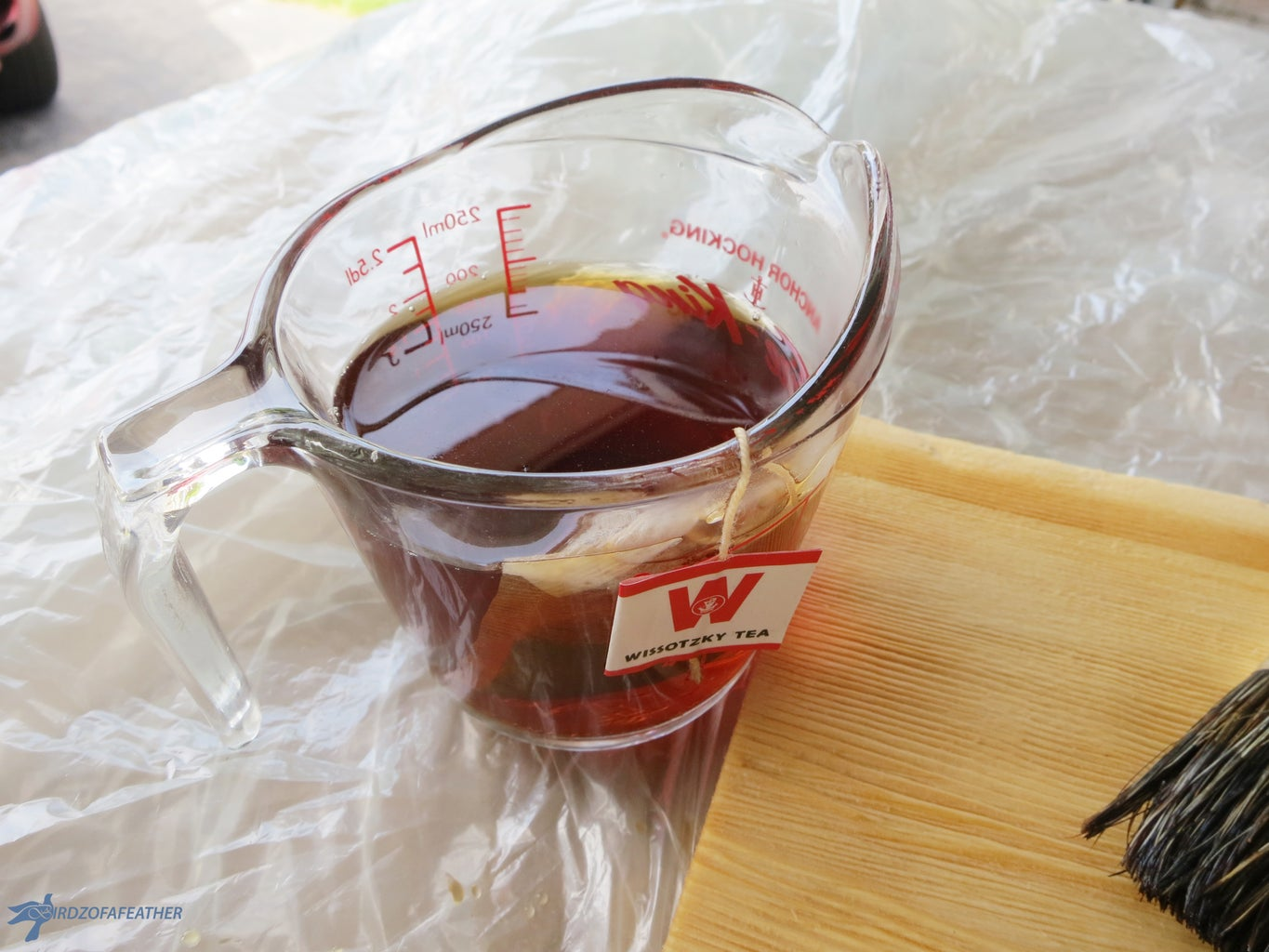 Mix Tea Stain and Pickling Solutions