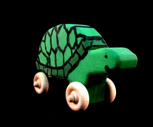 How to Make a Toy Tortoise by Seth