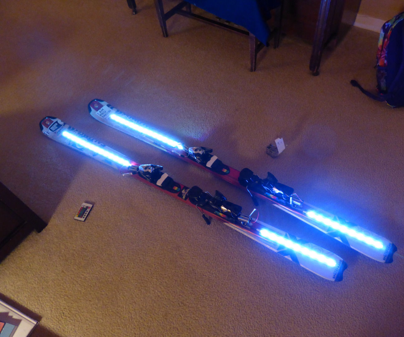 Light Up Skis