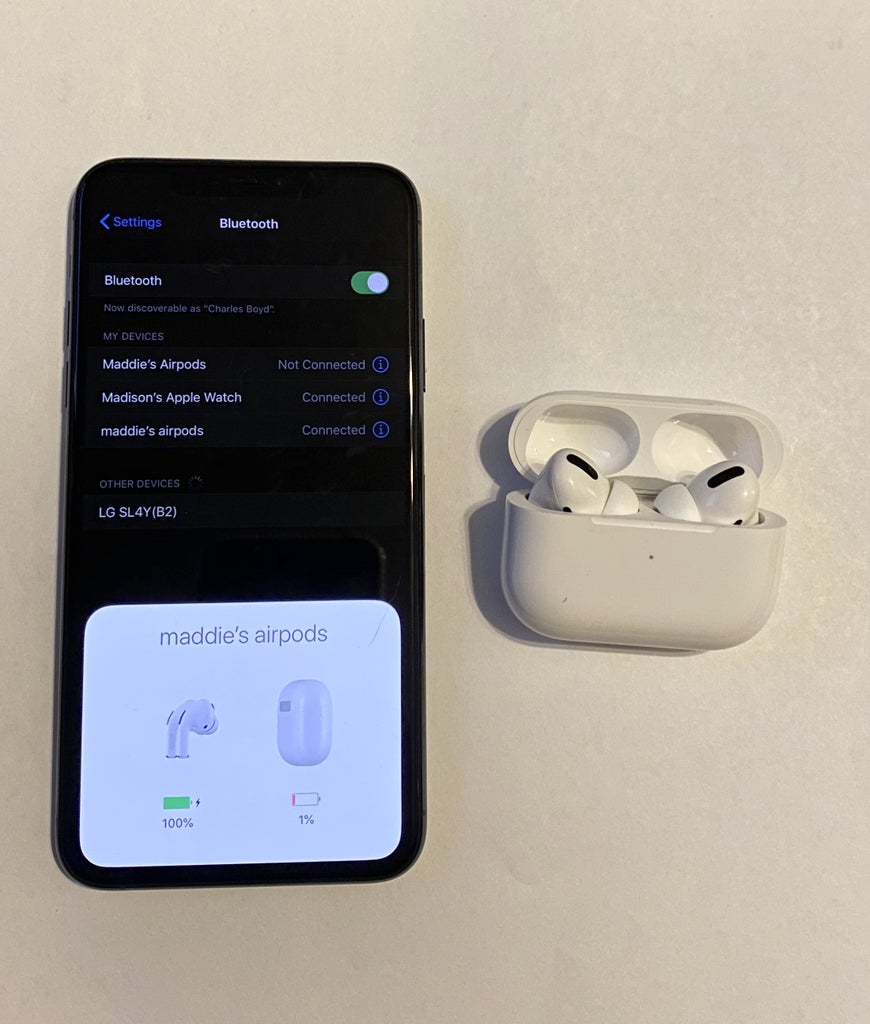 Connect First Pair of Airpod Pro's