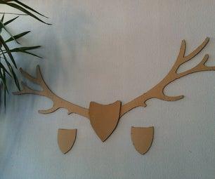 Oh My Deer - Cardboard Wall Fun Project
