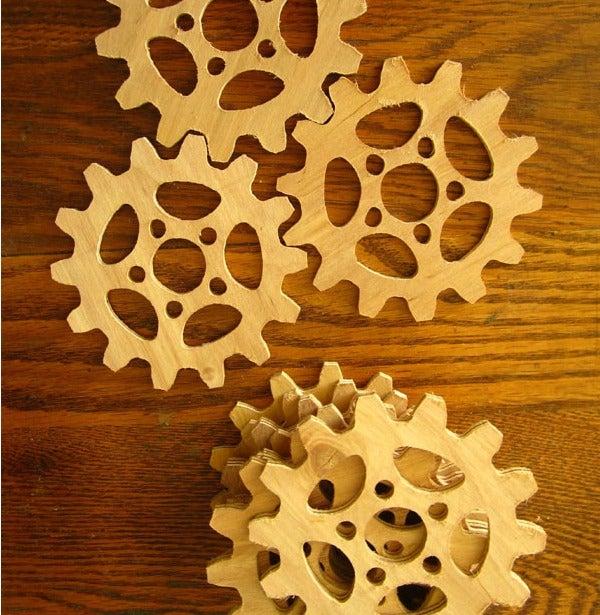 Gear Coasters