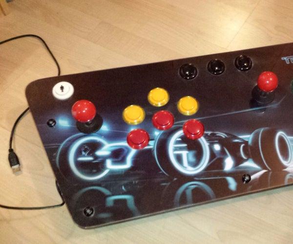 MAME TRON Arcade Control Panel