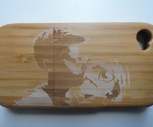 Personalize Your Wooden Phone Cover