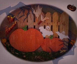 Halloween Yard Art (pallet Wood)